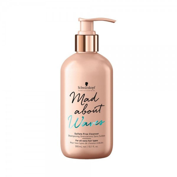 Mad About Waves Shampoo Sulfate-Free Cleanser