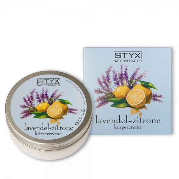 Lavendel-Zitrone Körpercreme
