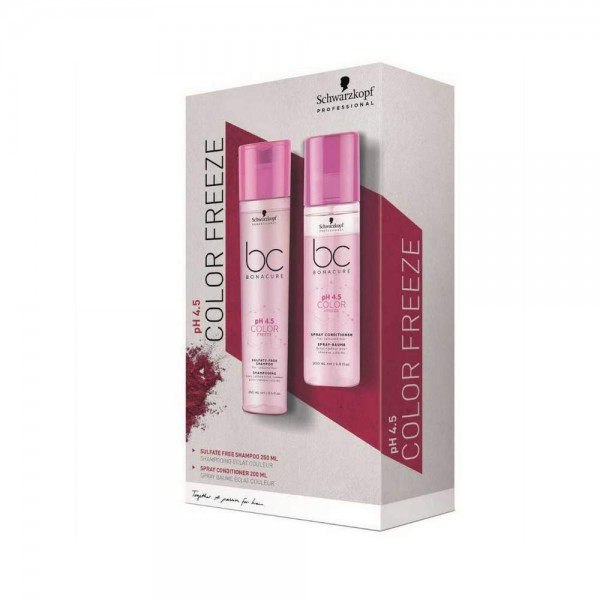Bonacure Color Freeze Shampoo Sulfatfrei + Spray Conditioner Set