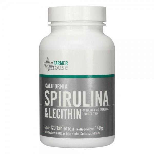 California Spirulina & Lecithin