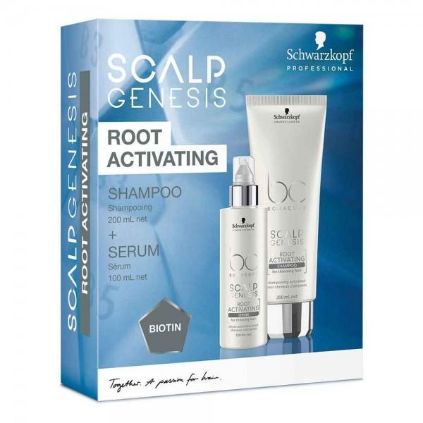 Bonacure Scalp Genesis Root Activating Shampoo + Serum Set